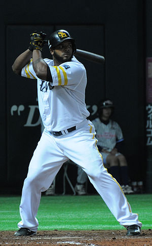 Wily Mo Peña - Peña with the Fukuoka SoftBank Hawks