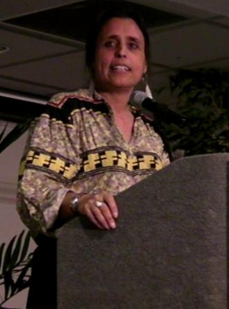 Winona LaDuke - LaDuke at the Dream Reborn Conference, April 2008