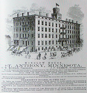 Eliza Winston - 1860 advertisement for the Winslow House