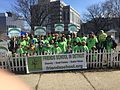 With students from the Friends School in Detroit at the St. Patrick's Day Parade. (16667943860).jpg