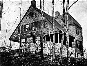 Bruce Price - William Kent Cottage, Tuxedo Park, New York (1886, demolished).