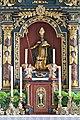 Wolfsberg Prebl Pfarrkirche hl Martin Hochaltar Schnitzfigur hl Martin 03092014 129.jpg
