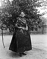 Woman, folk costume, yard, apron, headscarf Fortepan 18204.jpg