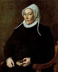 Cornelis Ketel: Dama de cincuenta y seis años