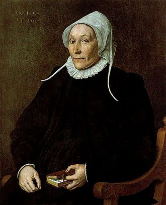 Cornelis Ketel - Woman Aged 56 in 1594