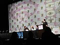 WonderCon 2011 - V panel with Marc Singer, Elizabeth Mitchell, and Scott Rosenbaum (5596533743).jpg