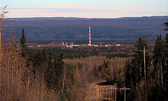 Woodlands County - Windfall gas plant in Woodlands County