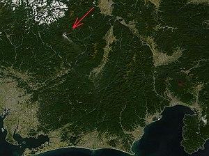 2014 Mount Ontake eruption - Image: Worldview 20140928 Mount Ontake Japan