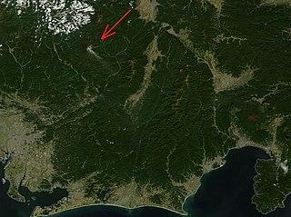 volcanic eruption in Japan