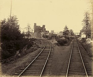 Lattimer, Pennsylvania - The Lattimer Colliery, photographed circa 1890 by William H. Rau
