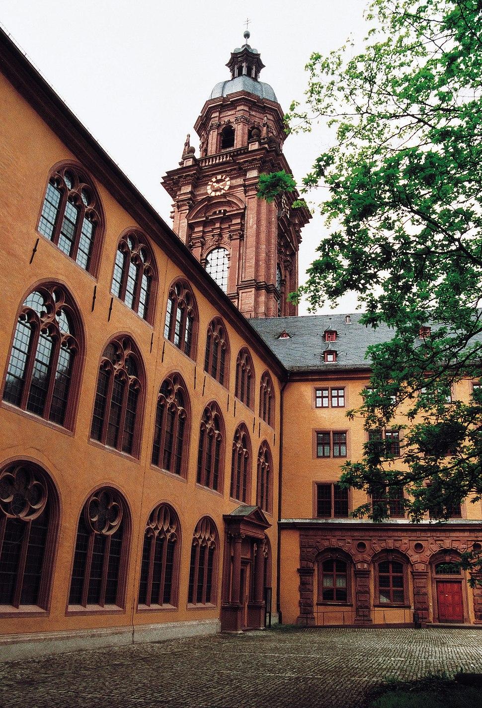 Wuerzburg old university 2001