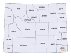 National Register of Historic Places listings in Wyoming