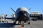 X-37B OTV4 landed at Kennedy Space Center (170507-O-FH989-002).jpg
