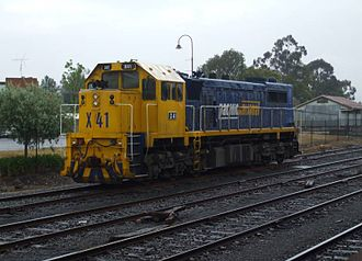 EMD G26 - Image: X41 Stabled at Seymour