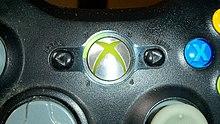 xbox 360 controller wikipedia rh en wikipedia org Custom Xbox Controller Buttons Guide Xbox One Guide