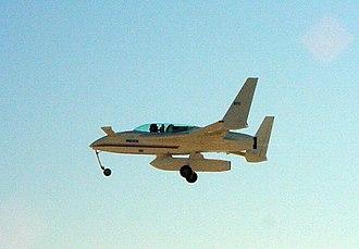 XCOR EZ-Rocket - EZ-Rocket one week after its first flight
