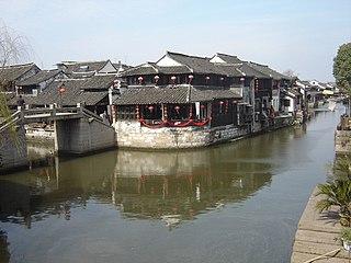 Xitang Town in Zhejiang, China