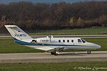 YU-MTU Cessna CitationJet 1 C525 (22999410999).jpg