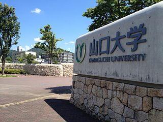 Yamaguchi University higher education institution in Yamaguchi Prefecture, Japan