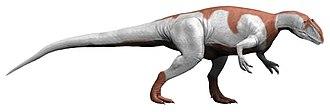 Carnosauria - Image: Yangchuanosaurus NT (flipped)