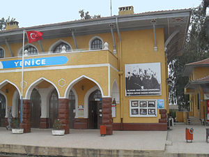 Adana Conference - Billboard in Yenice Station