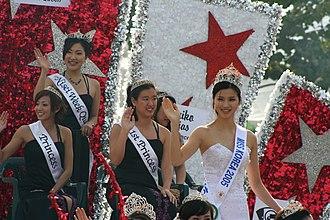 Nisei Week - Nisei Week Queen, Princesses, and Miss Korea in 2005