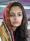 Young Woman at Hazratbal Shrine - Srinagar - Jammu & Kashmir - India - 02 (26232603894).jpg