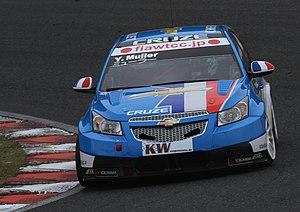Yvan Muller - Muller driving the Chevrolet Cruze in 2010.