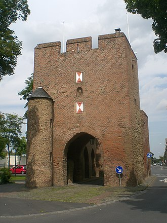 Zülpich - Zülpich's Cologne gate