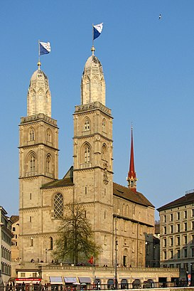 How to get to Grossmünster with public transit - About the place