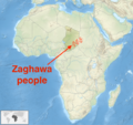 Zaghawa castes in Chad Sudan Africa.png