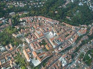 part of Zagreb, Croatia