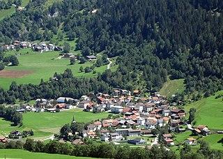 Zillis-Reischen Place in Graubünden, Switzerland