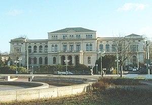 Frankfurt Zoological Garden - Main entrance