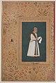 """Portrait of Mulla Muhammad Khan Vali of Bijapur"", Folio from the Shah Jahan Album MET sf55-121-10-34a.jpg"