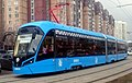 """Vityaz-M"" 31013 tram in Moscow (left front view).jpg"