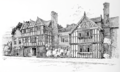 'Severn End', Hanley Castle, Worcestershire - drawing by H. Inigo Triggs.png