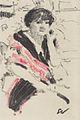 Édouard Vuillard - Halbfigur einer sitzenden Frau - ca1911.jpeg