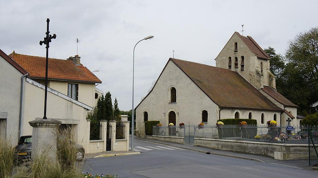 Eglise Notre-Damme de Taissy.