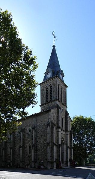 Église de Loyettes.