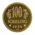 Österreich - 100 Schilling Münze, 1934, Revers.JPG