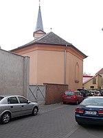 Újpest-Belsővárosi református templom a Mády Lajos utca felől nézve, 2018 Újpest.jpg