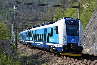 Rail transport in the Czech Republic - Škoda 7Ev electric multiple unit train