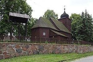 Świątkowo, Kuyavian-Pomeranian Voivodeship - Wooden church of The Holy Trinity from the 18th century.