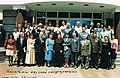 Академик Яновский Р.Г. и делегаты научной конференции в АГУ, Майкоп 2002..jpg