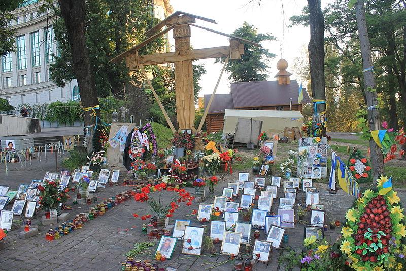 На алеї Героїв Небесної Сотні стартували роботи з будівництва Меморіалу - Цензор.НЕТ 2453