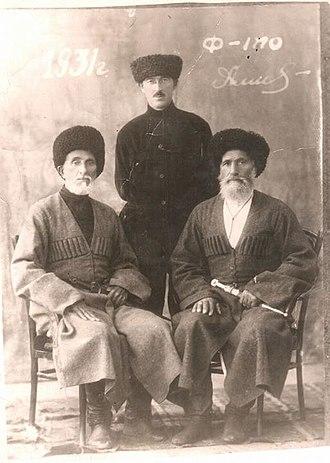 Ingush people - Image: Амерхановы
