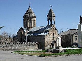 St. Marys Church, Tskhinvali Church in South Ossetia, Georgia