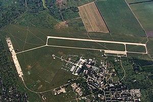 Konotop Air Base - Image: Аэродромы и терминалы ВПП, Конотоп RP41894