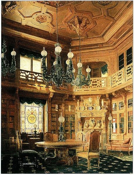 File:Бобров А.А. Б-ка Аничкова дворца 1869.jpg
